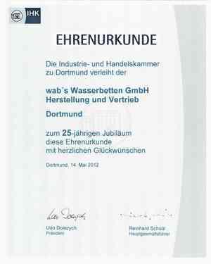 IHK-Ehrenurkunde