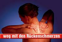 weg mit den Rückenschmerzen
